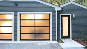 There are a variety of new garage doors to choose from